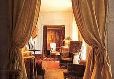 Victorian Doorway Curtains