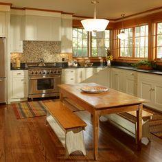 Oak Trim White Cabinets Paint The Trim Or Leave It