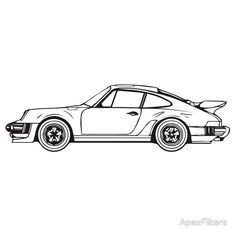 1000+ images about car coloring pages on Pinterest