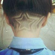 undercut star hair