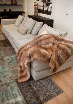 cream sofa throws water repellent pet extra long protector 1000+ images about possum fur blankets & on ...