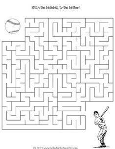Maze, Baseball and Baseball players on Pinterest
