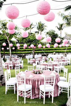 Inspiration For A Romanitic Outdoor Bridal Shower Parties