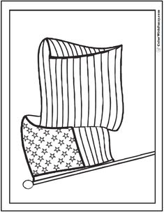 I Love USA printable coloring pages for kids boys and
