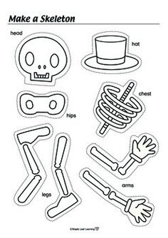 Skeleton homework ks1