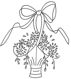 1000+ images about Embroidery Baskets & Vases etc on