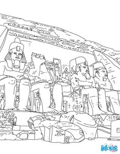 coloring-adult-egypt-funeral-of-a-pharaoh, From the