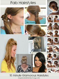 4 Quick Christmas Morning Hairstyles! This Is A Life Saver And It