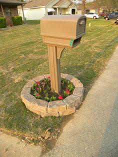 mailbox garden drought tolerant
