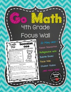 1000+ Ideas About Math Focus Walls On Pinterest  Focus