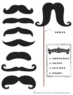 Personalized Cool Mustache Iron on for Toddler/Youth/Adult