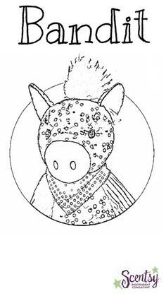 1000+ images about Scentsy coloring pages on Pinterest