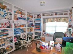 Fabric Organization Sewing Quilting Room Sewing Room Inspiration