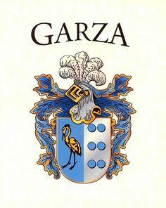 Delagarza Coat of Arms Delagarza Family Crest Coat of