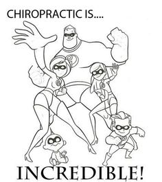 Kids Chiropractic Printable Coloring Pages