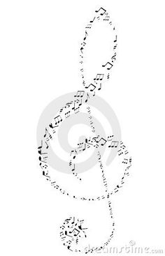 Treble Clef tattoo behind my right ear. I would like to