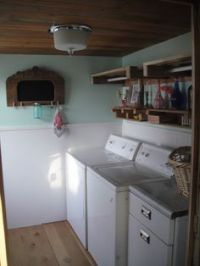 Shabby chic laundry room redo   Home Renovation ...