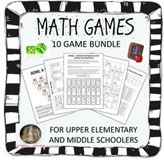 Math skills, To find out and Upper elementary on Pinterest