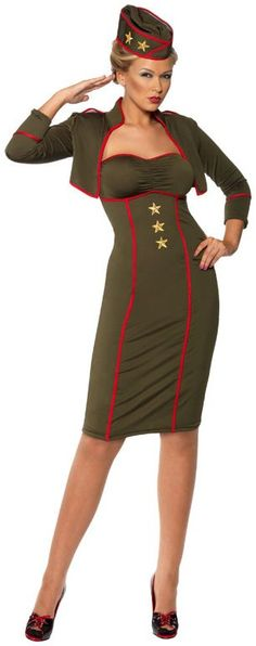 1000 images about 40s Costume Ideas Ladies on Pinterest  1940s Army girl costumes and