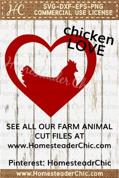 Download Chicken Livestock Farm Hen Rooster SVG File Cutting by ...