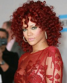 Red Hair Colors For Black Women Burgundy Hair Color Hair Color