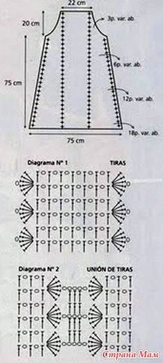 crochet dress diagram cristina my crochet