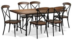 Signature Design By Ashley Laveta 5 Piece Dining Set From