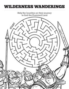 John 3 Nicodemus Bible Mazes: Your kids are going to love