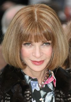 Anna Wintour Hair Cut ADDICTED FASHIONISTA Anna Wintour Hair