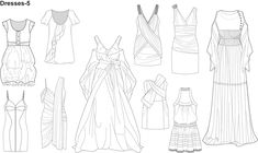 1000+ images about CROQUIS FOR FASHION DESIGN on Pinterest