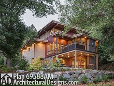 Very Steep Slope House Plans Hillside Home Plans At Family Home