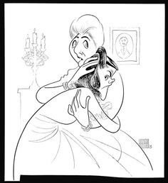 Patti Lupone, Anything Goes Revival. Al Hirschfeld
