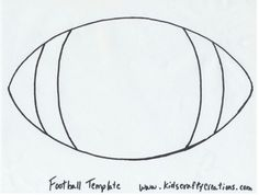 Football, Templates and Google search on Pinterest