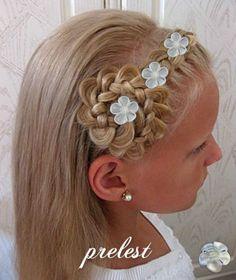 Kommunionfrisuren Festliche Frisuren Für Kleine Mädchen Frisuren