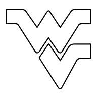 West Virginia pattern. Use the printable outline for