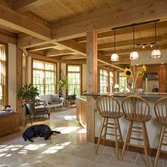 Pole Barn House Interior Pictures POST AND BEAM FLOORPLANS