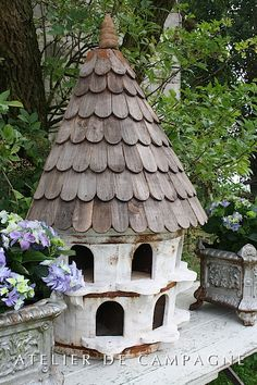 Victorian Style Birdhouse From Regal Roosts Gardens