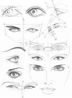 how to draw anime boy eyes ~ this is helpful for people