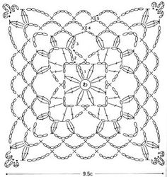 1000+ images about Diagramas crochet-ganchillo on