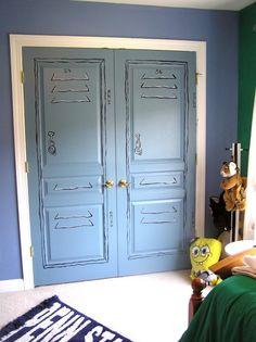divine painting bedroom closet doors | Roselawnlutheran