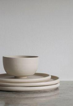 Minimalist ceramics