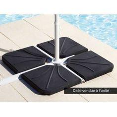 hesperide dalle beton pour parasol decentre le moins cher