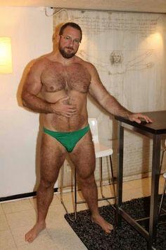 big black muscle men