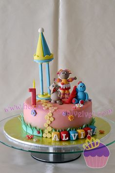 In The Night Garden Cake 2 Kids Party Ideas Pinterest
