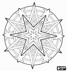 Dolphin Mandala color page, dolphins, animal coloring