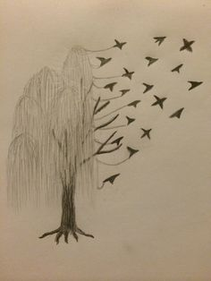 Collection Of 25 Willow Tree Tattoo Design Classy World