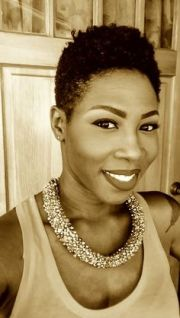 natural hair tapered cut 4c twa