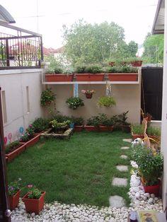 Small Backyard Landscaping Ideas With Floor Tiles Gardens