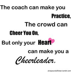 cheer quote hahaha so funny cause I know football players