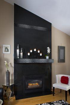 Absolute Black Granite Fireplace Surrounds  Haddon Hall